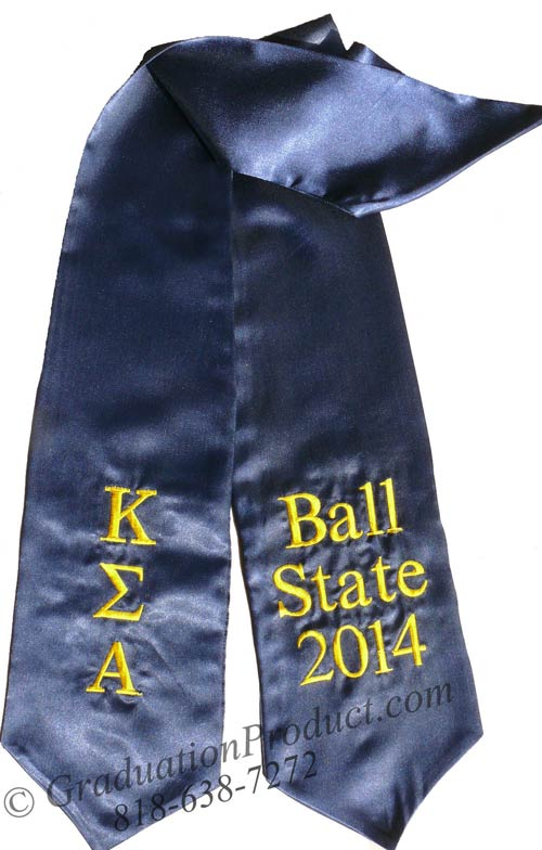 Kappa Sigma Alpha Greek Grad Sash