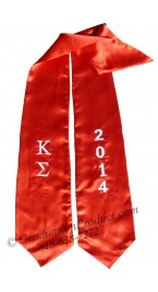 Kappa Sigma Greek Graduation Sash