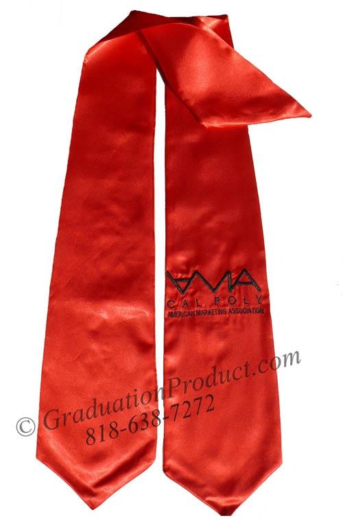 Cal Poly AMA commencement graduation Stole
