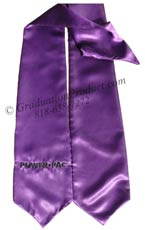 Embroidered Purple Power Pac Sash