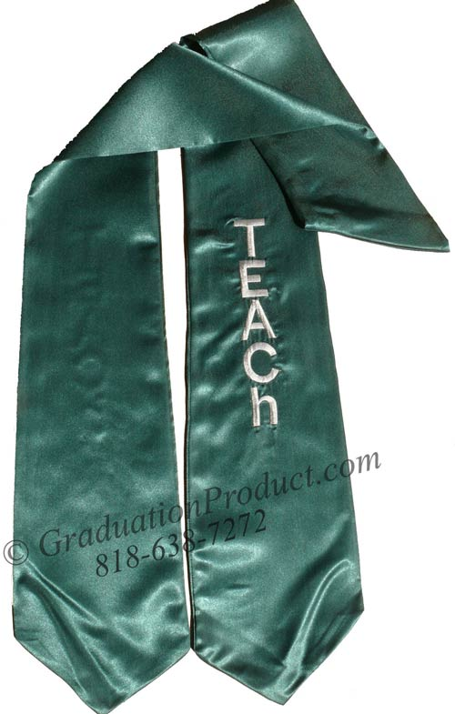 Teach Graduation Stole