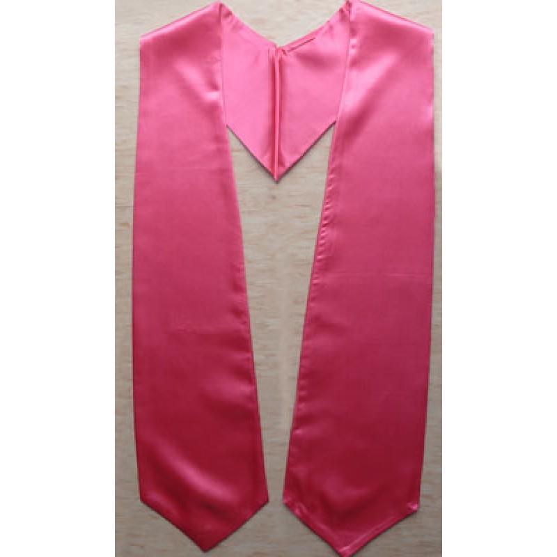 Hot Pink Graduation Stole