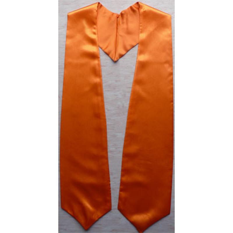 Orange cheap graduation stoles