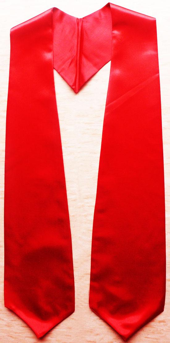 Red Grad Stole