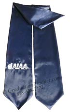 Embroidered  Navy Blue AIAA Sash