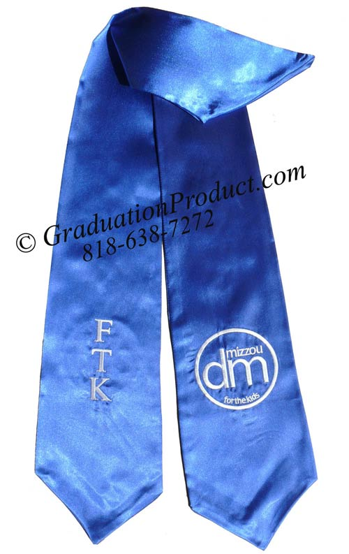 FTK custom sorority graduation sash