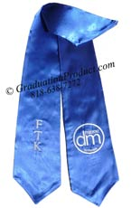 FTK custom sorority graduation sash