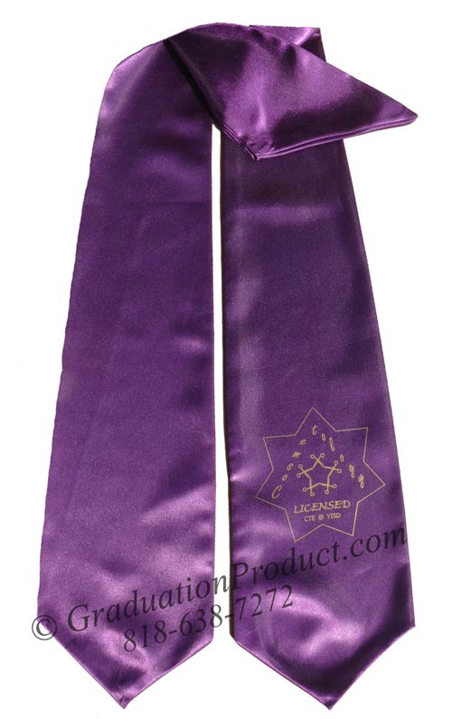 Licensed Cosmetology Grad Stoles