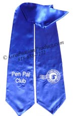 Pen Pal Club Graduation Stole