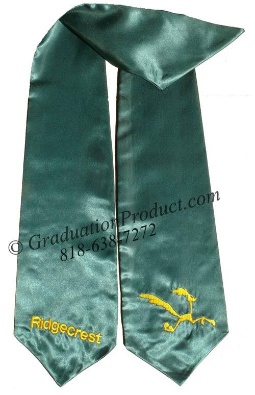 Ridgecrest Custom Graduation Stole