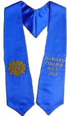 Harvard College graduation sash