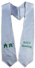 Edcc Housing graduation stoles custom
