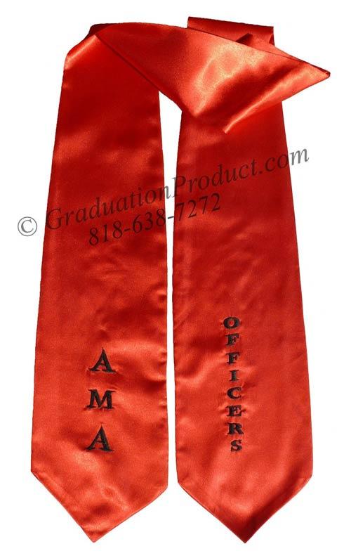 AMA Officers Graduation Stole