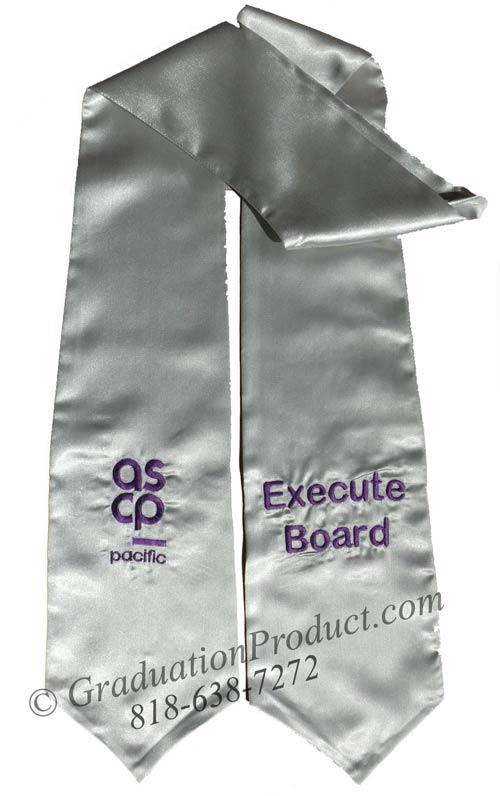 ASCP Execute Board Grad Sash