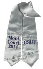 CSUF Moot Court 2015 Graduation Stole