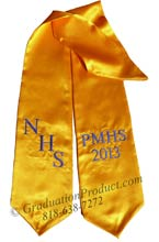 NHS PMHS 2018 Graduation Sash