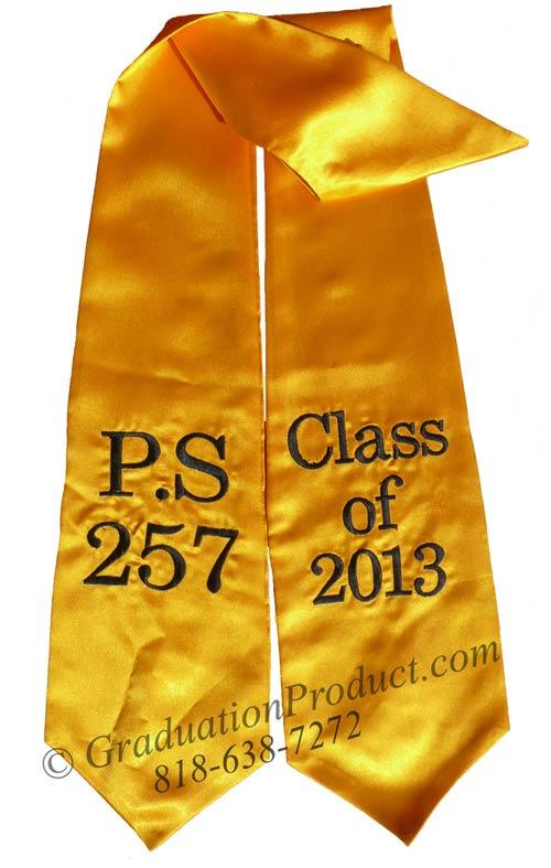 PS 257 Class of 2018 Graduation Stole