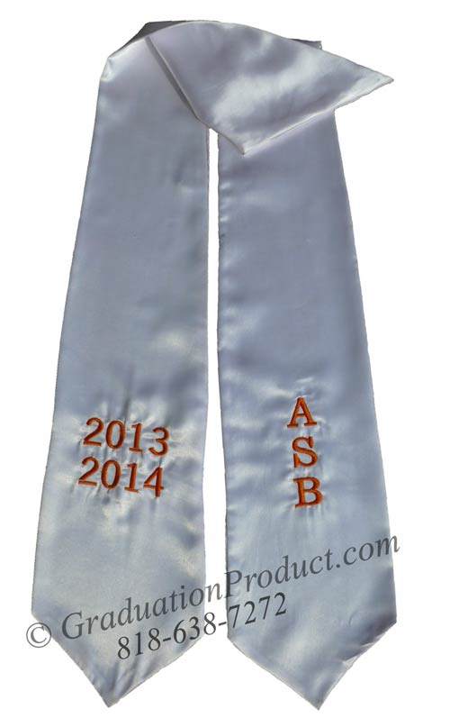 ASB 2018 Graduation Honors Stole