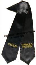 CSULB Upward Bound Graduation Stole