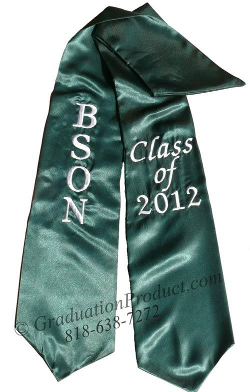 BSON Class of 2018 Honors Sash
