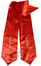 ENA 2018 custom graduation stole
