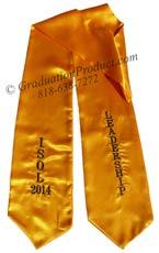 ISOL 2015 Leadership Graduation Stole