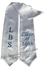 LBS Class of 2018 stoles for graduation