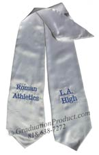 LA High Roman Athletics Graduation Stole