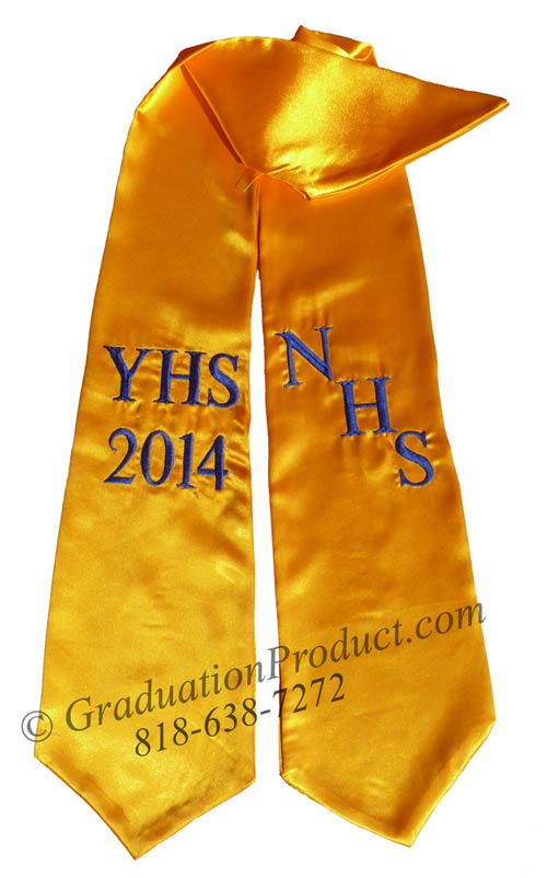 NHS YHS 2018 Graduation Stole