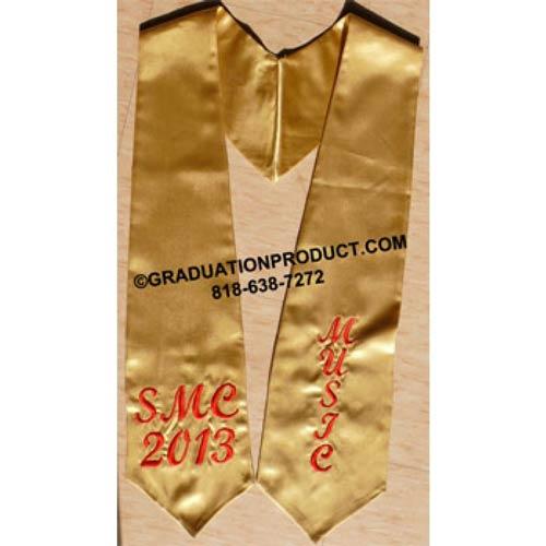 Embroidered SME 2018 Music Grad Sash