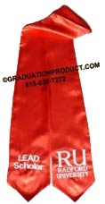 Radford University commencement graduation Stole