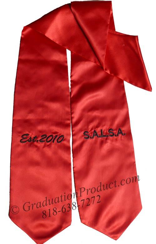 SALSA Graduation Stole