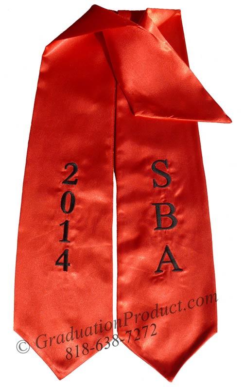 SBA 2018 Graduation Sash