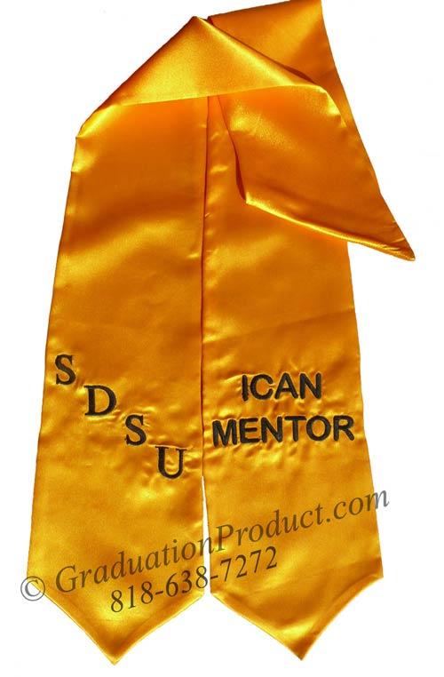 SDSU Ican Mentor Grad Sash
