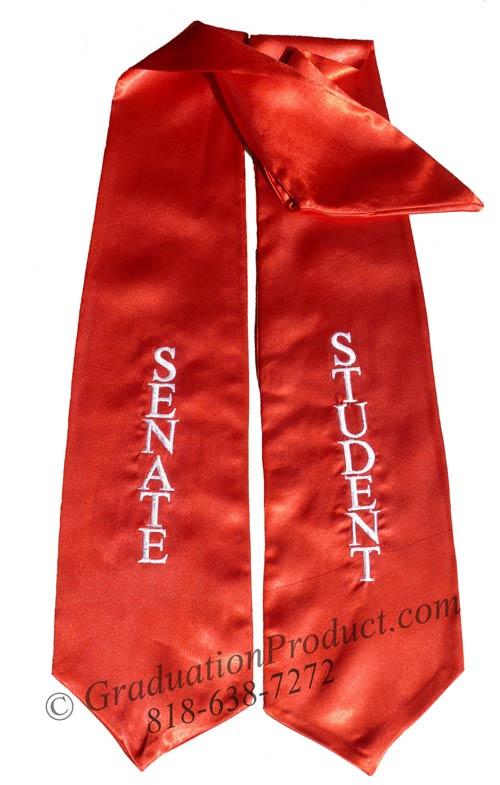 Senate Student stoles for graduation