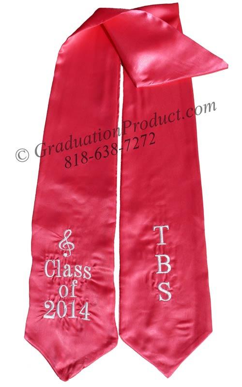 TBS Class of 2018 Grad Sash