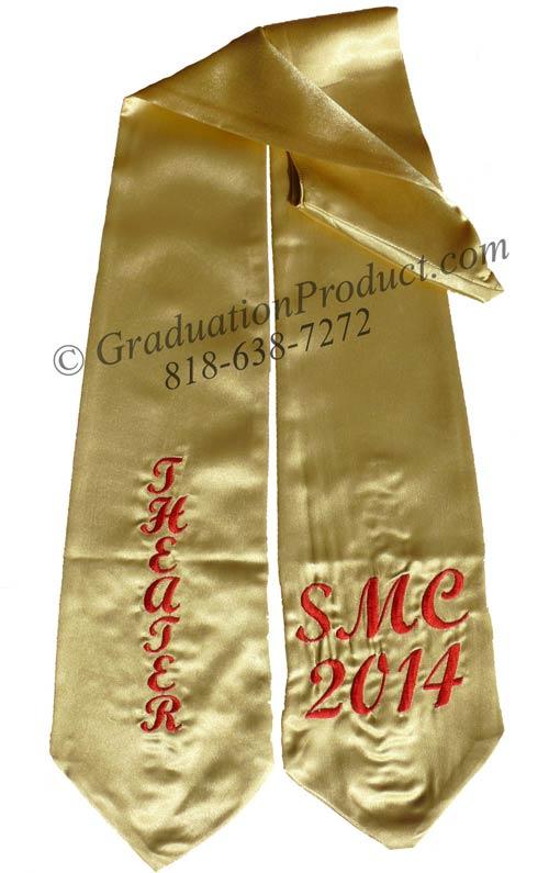 SME 2018 Theater Graduation Stole